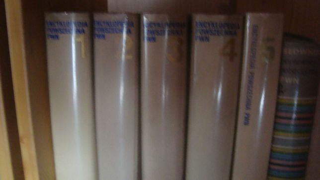 Sprzedam lub zamienię encyklopedię PWN i słowniki.