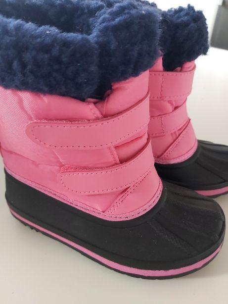 Śniegowce, buty zimowe rozmiar 24