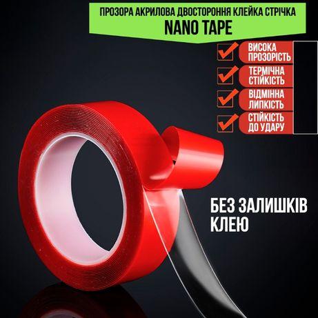 Двухсторонняя клейкая лента Nano Tape (1мм*1см*3м)