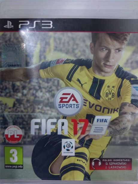 Fifa 17 PL PlayStation 3 PS3 Używana Kraków
