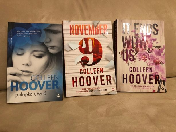 Trzy książki Colleen Hoover