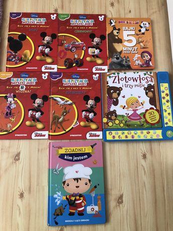 Książki Mickey i Minnie Masza nauka zawodów kolorów zestaw
