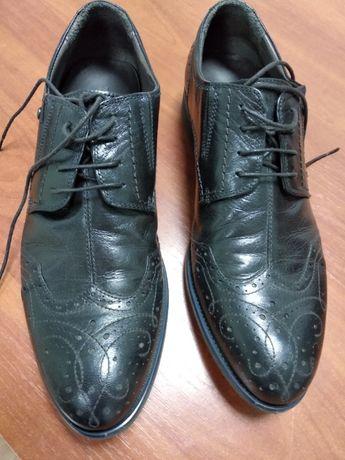 Отличные кожаные брендовые туфли TJ Collection, р.41