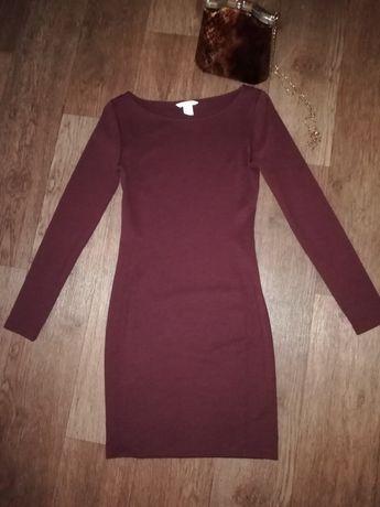 Трикотажные платье  42размер