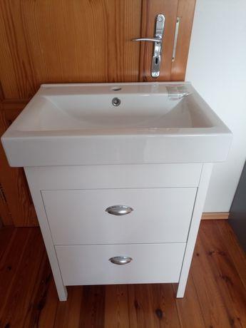 Szafka łazienkowa z umywalką 60cm