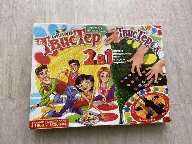 Твистер игра и твестерОк настрльная игра для пальцев