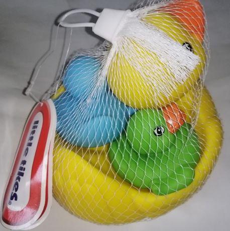 Новая Уточка little tikes резиновая набор для купания ванны