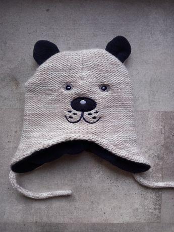 Nowa czapeczka miś