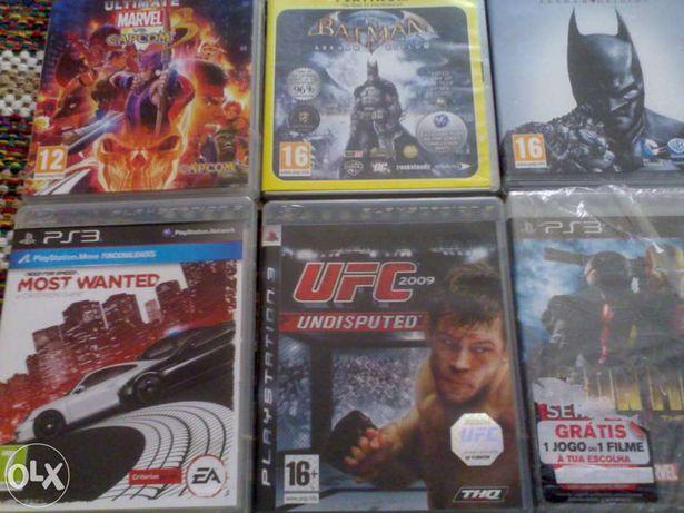 Jogos ps3 varios de super-heróis, disney, marvel, batman, corridas