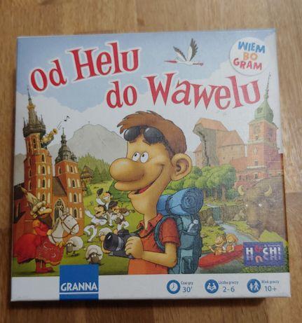 Gra edukacyjna Od Helu do Wawelu. Granna. Wiek 10+