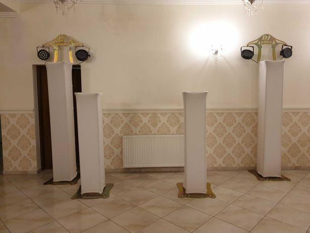 Statywy na ruchome głowy 4 szt. 1,5m i 2m