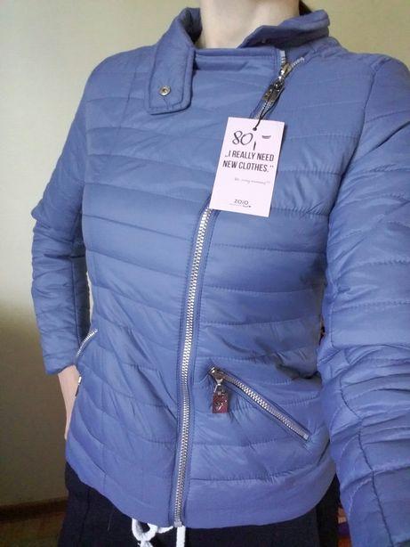 Nowa kurtka wiosenna pikowana