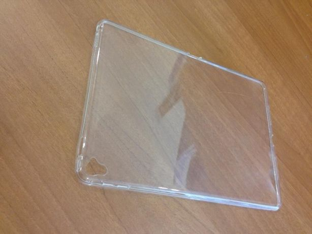 Чехол для айпад про 9.7 прозрачный силикон