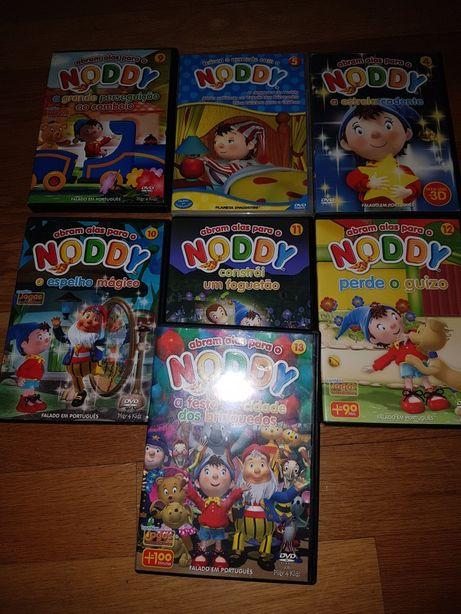 7 DVD's Noddy