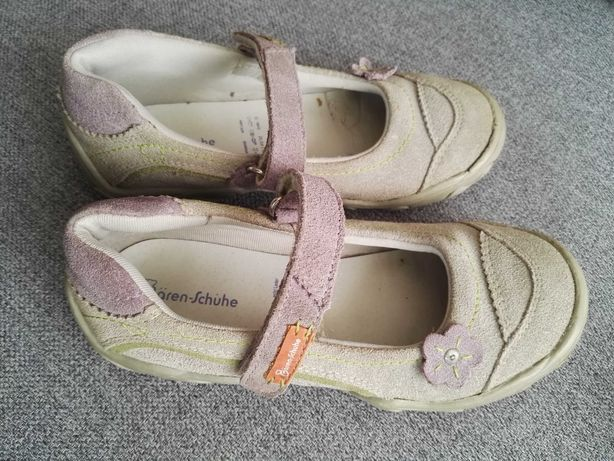 Szare półbuty pantofle buty baleriny r 29 Baren-Schule