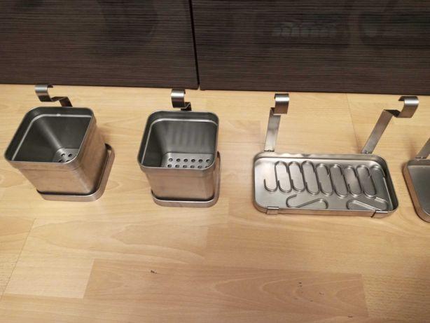 Zestaw akcesoriów na reling kuchenny IKEA Grundtal