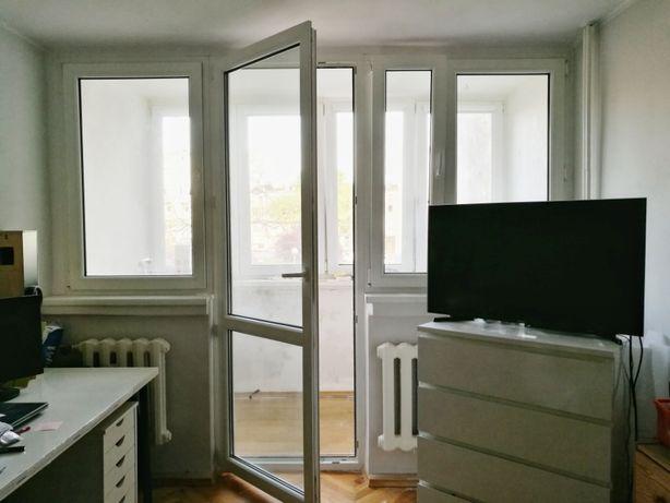 Okna drzwi balkonowe PCV używane Veka