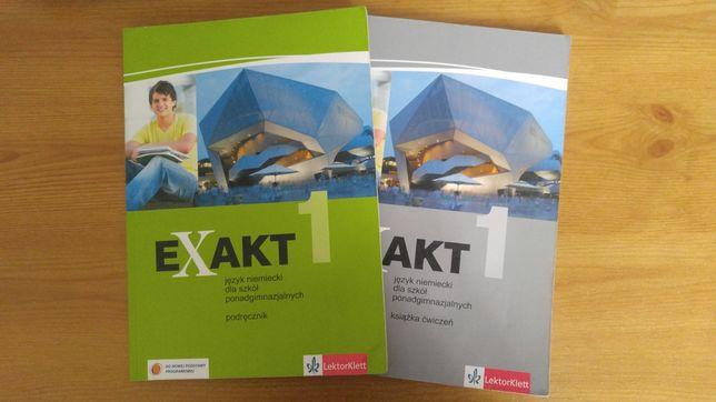 EXAKT 1 - język niemiecki dla szkół ponadgimnazjalnych