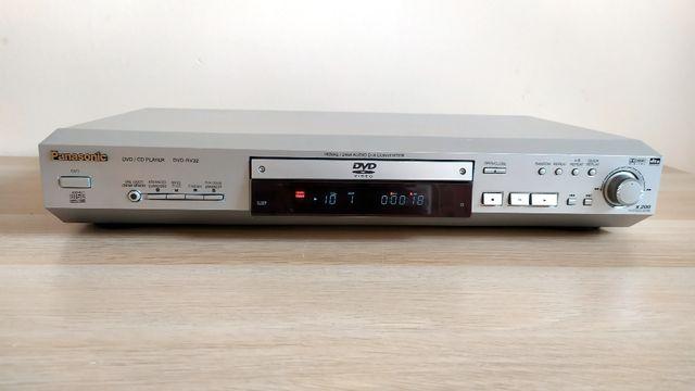 Panasonic DVD RV-32 + oryginalny pilot