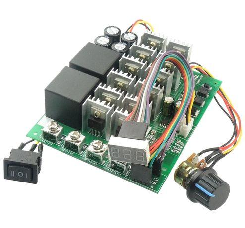 ШИМ регулятор. Блок управления двигателем постоянного тока 60А