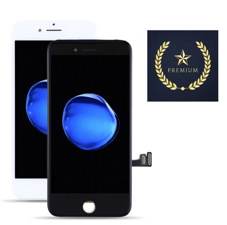 Ecrã (LCD + Touch) para Apple iPhone 7 - Branco e Preto (PREMIUM)