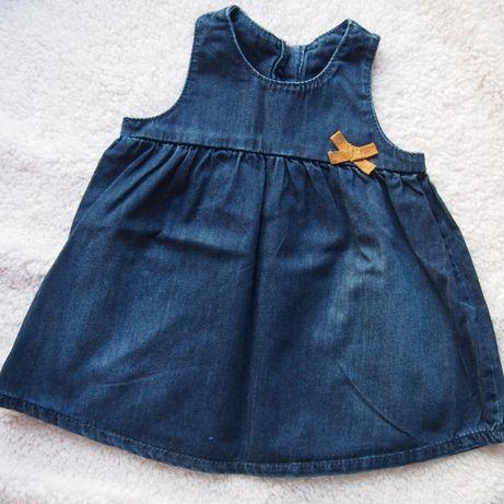 Jeansowa sukieneczka Marks&Spencer rozm. 68