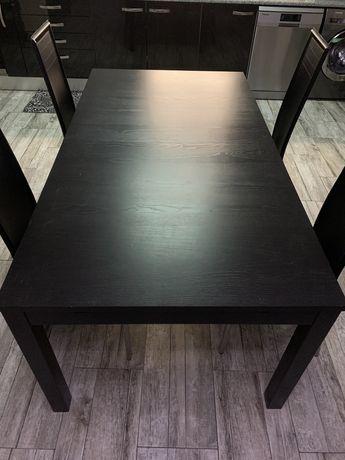 Mesa de sala extensível (4 cadeiras)