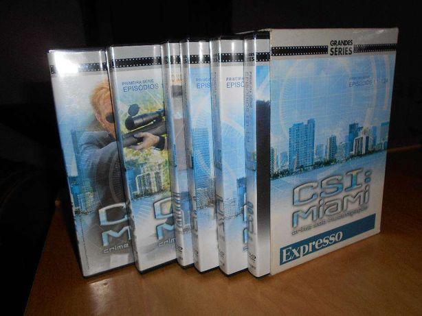 DVD's CSI Miami - Temporada I