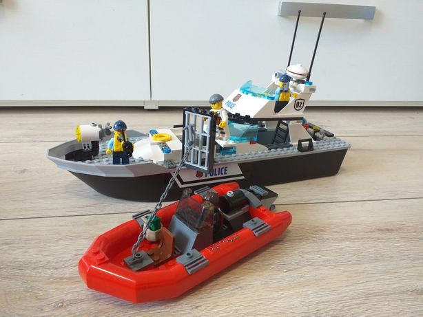 Lego city полиция 60129 полицейский патрульный катер