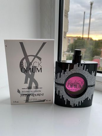 Тестер без крышечки Yves Saint Laurent Black Opium Парфюмированная вод