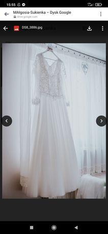 Suknia ślubna rozmiar 44