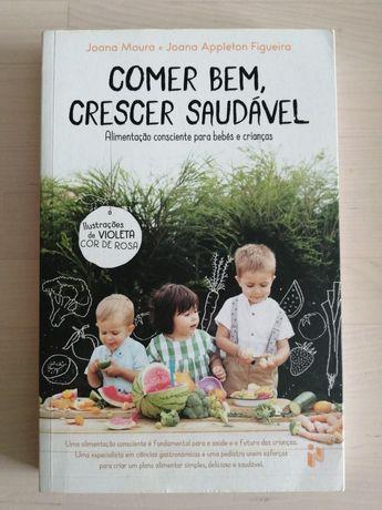 Livro sobre alimentação infantil
