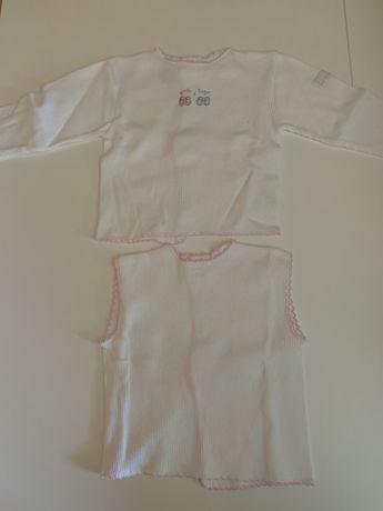 Conjunto interior bebé Laranjinha 3m - 5€ NOVO
