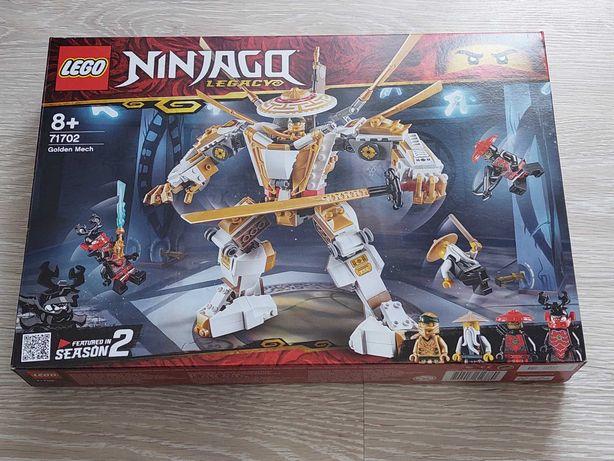Lego Ninjago 71702 Złota zbroja (Nowy, zaplombowany)
