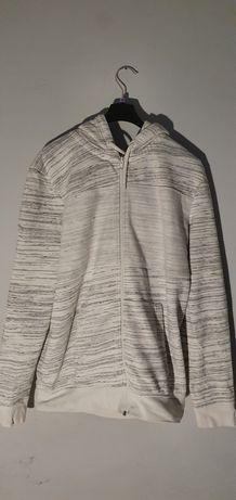 Bluza Clockhouse biała w czarne paski