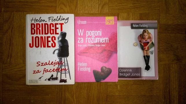 Książki Dziennik Bridget Jones 3 części