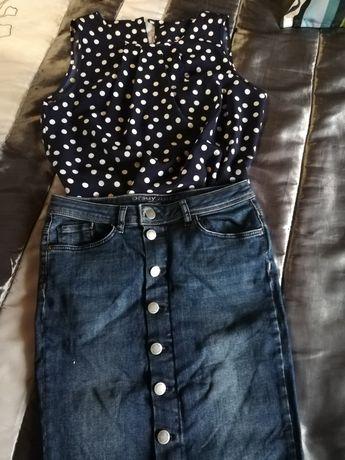 Spódnica i koszula Orsay 36/S
