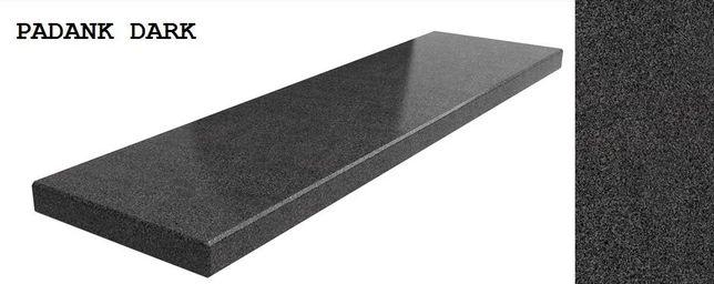szary granit Padank Dark na parapet zew., wew. , blat czy schody