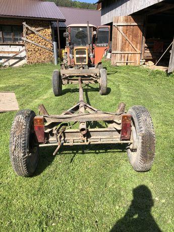Wóz dwuosiowy do traktora