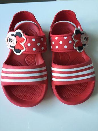 Buty adidas sandały minnie mouse 25 czerwone