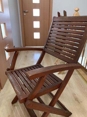 Krzesło ogrodowe z oparciami