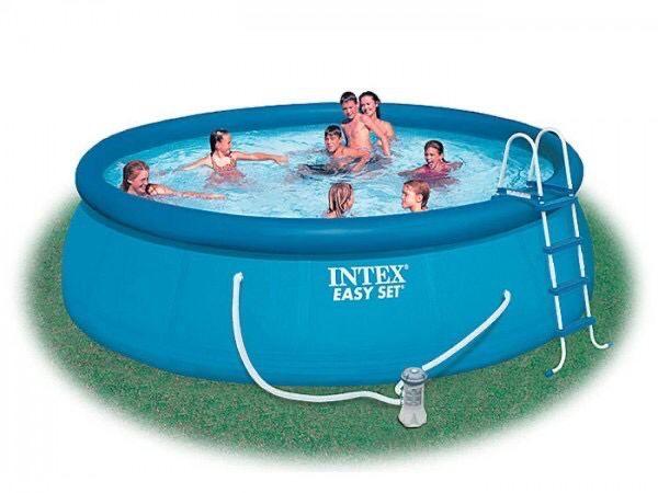 Надувной бассейн INTEX EASY SET 28168