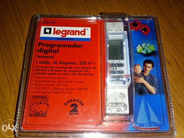 Programador Digital Legrand com 8 programas - NOVO
