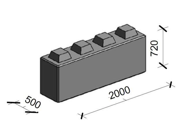 Bloki betonowe Wall Block