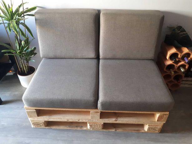 Sofá paletes de madeira