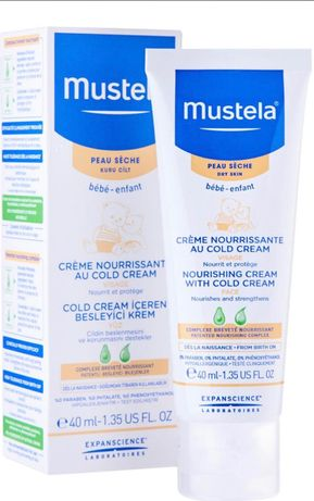 Детский защитный крем Mustela Cold Creme 40 ml