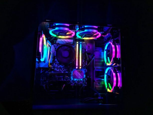 Wentylator DarkFlash DR12 Pro RGB 5 sztuk