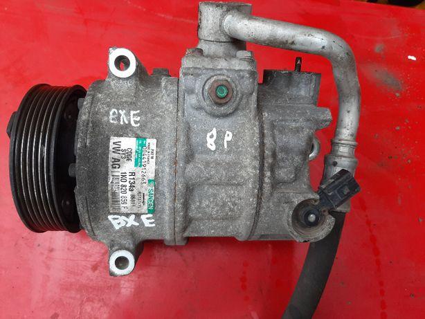 Kompresor Klimatyzacji Audi a3 8p 1.9 tdi BKC/BXE 1K0,820,859F WYSYŁKA