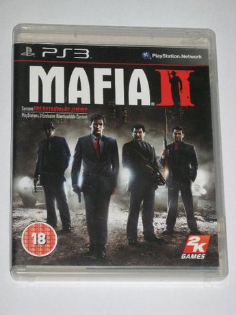 Mafia II Mafia 2 PS3 Plakat 3xA BDB Play Station 3