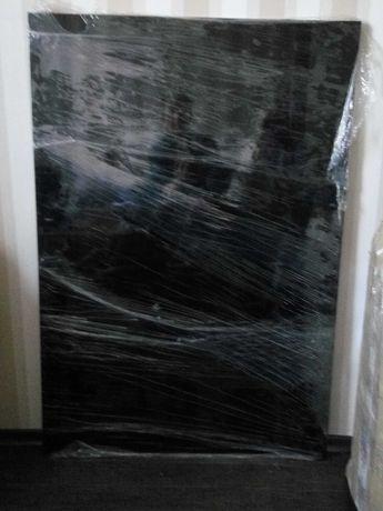 Черная декоративная панель ДСП 25